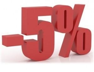 Por venir de proveedores.com descuento de 5%