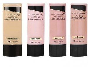 Maquillaje Maxfactor Lasting