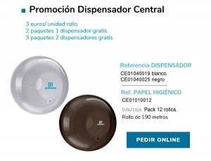 Promoción Dispensador Central