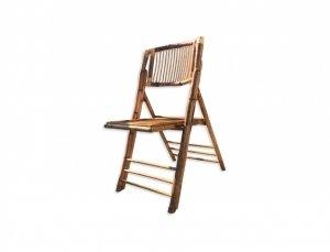 Silla Bambú COJIN INCLUIDO