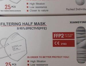Envío gratis comprando mascarillas desechables