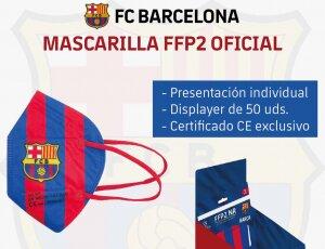 Envío gratis comprando Mascarillas FFP2 OFICIAL DEL BARÇA