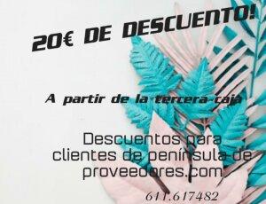 PROMO ACTIVA: 20€ DE DESCUENTO