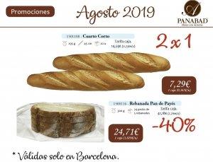 Promoción Agosto 2019