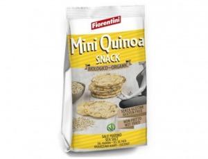 16 unidades Snack Mini Tortitas Maíz Quinoa Bio 50g