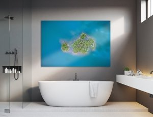 10% de descuento decorando baños y hoteles